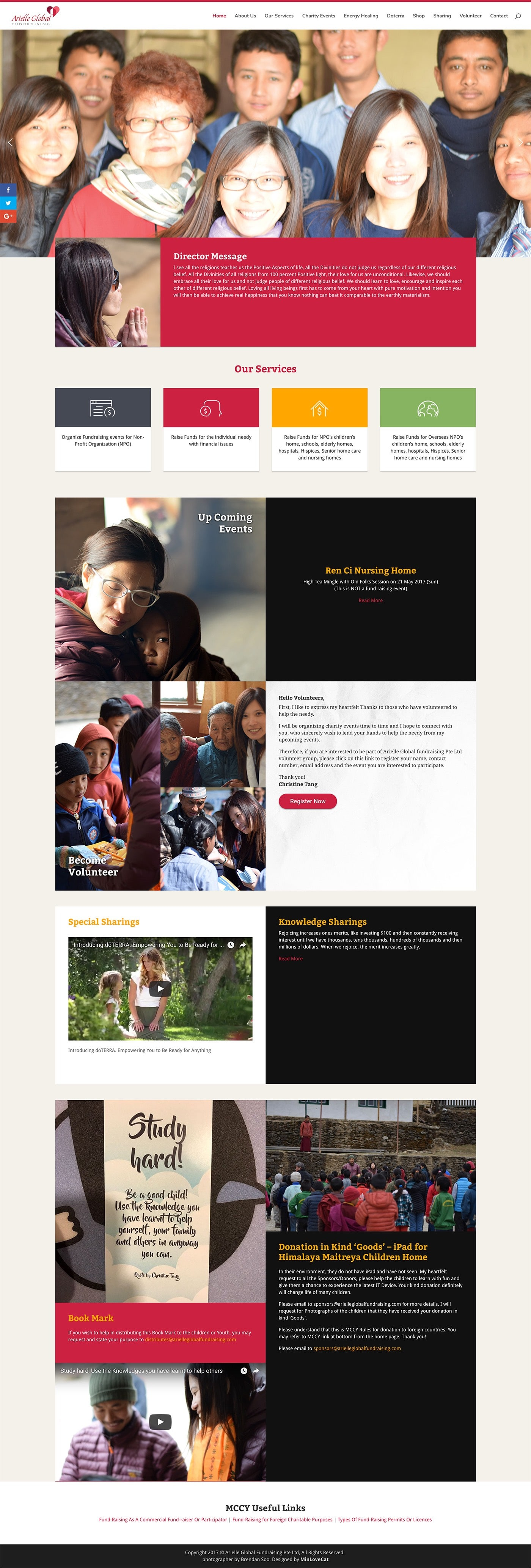 Arielle Global Fundraising