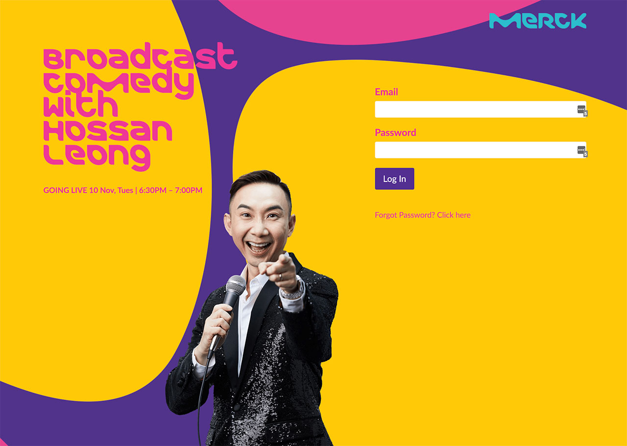 Broadcast Comedy with Hossan Leong